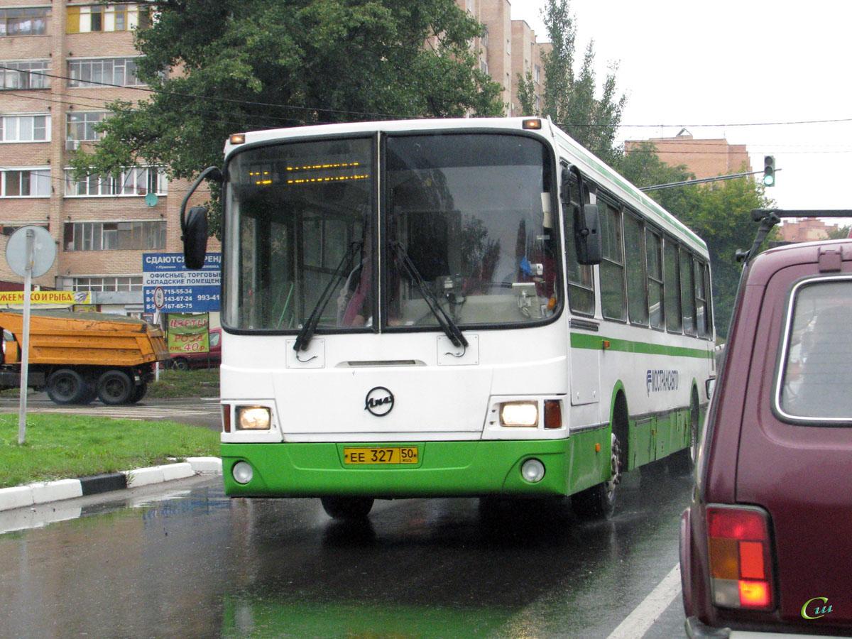 Пушкино. ЛиАЗ-5256.25 ее327