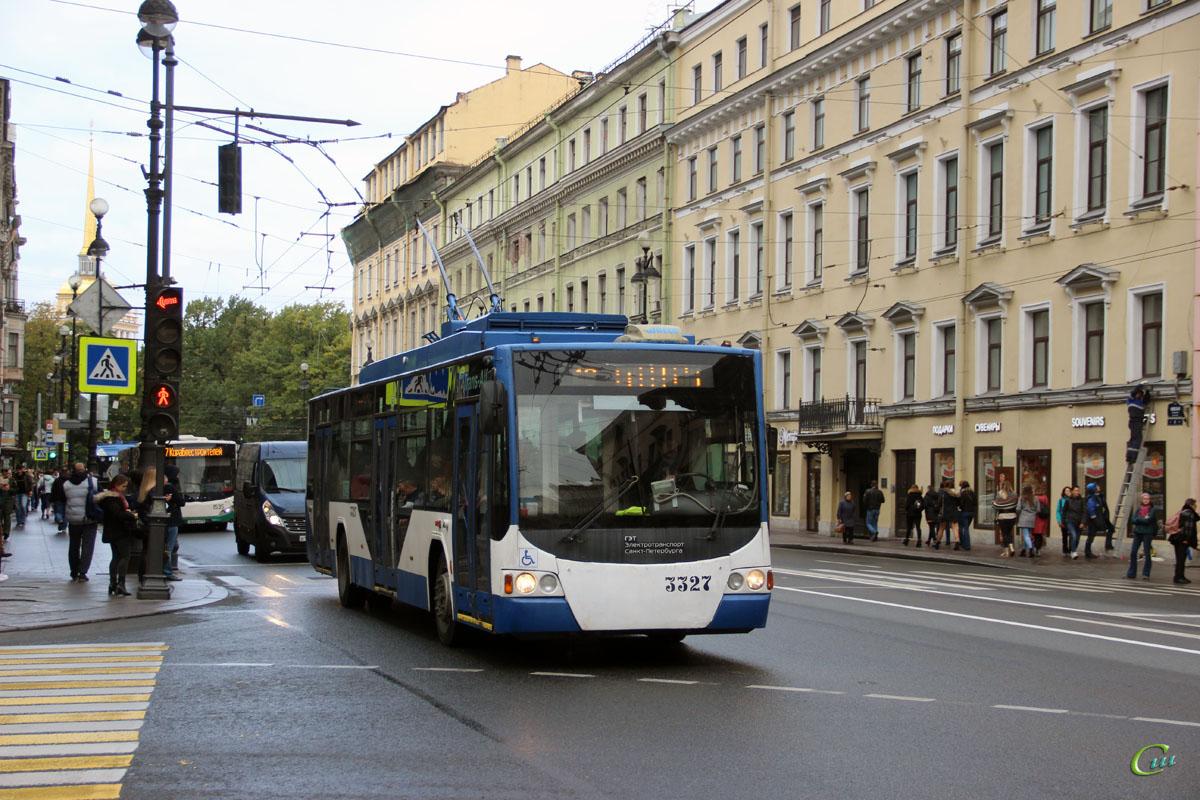 Санкт-Петербург. ВМЗ-5298.01 Авангард №3327