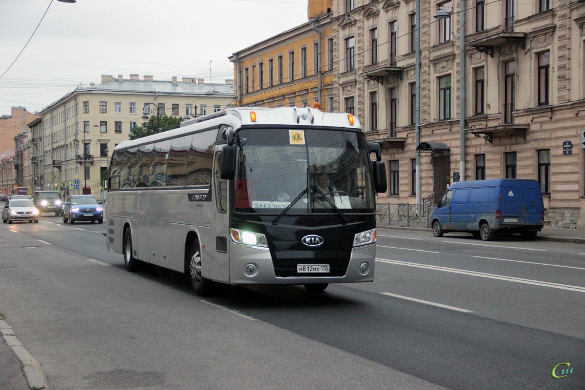 Санкт-Петербург. Kia Granbird KM948 Greenfield н812мх