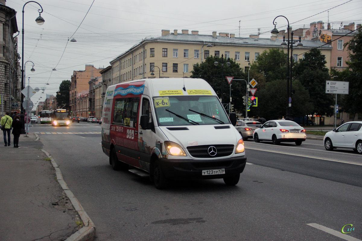 Санкт-Петербург. Луидор-2236 (Mercedes-Benz Sprinter) у123тр