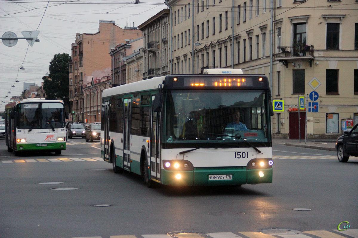 Санкт-Петербург. ЛиАЗ-5292.60 в849су