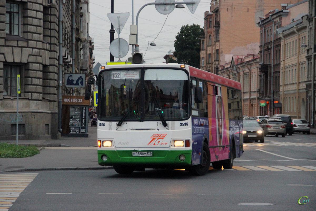 Санкт-Петербург. ЛиАЗ-5293.53 в185ву
