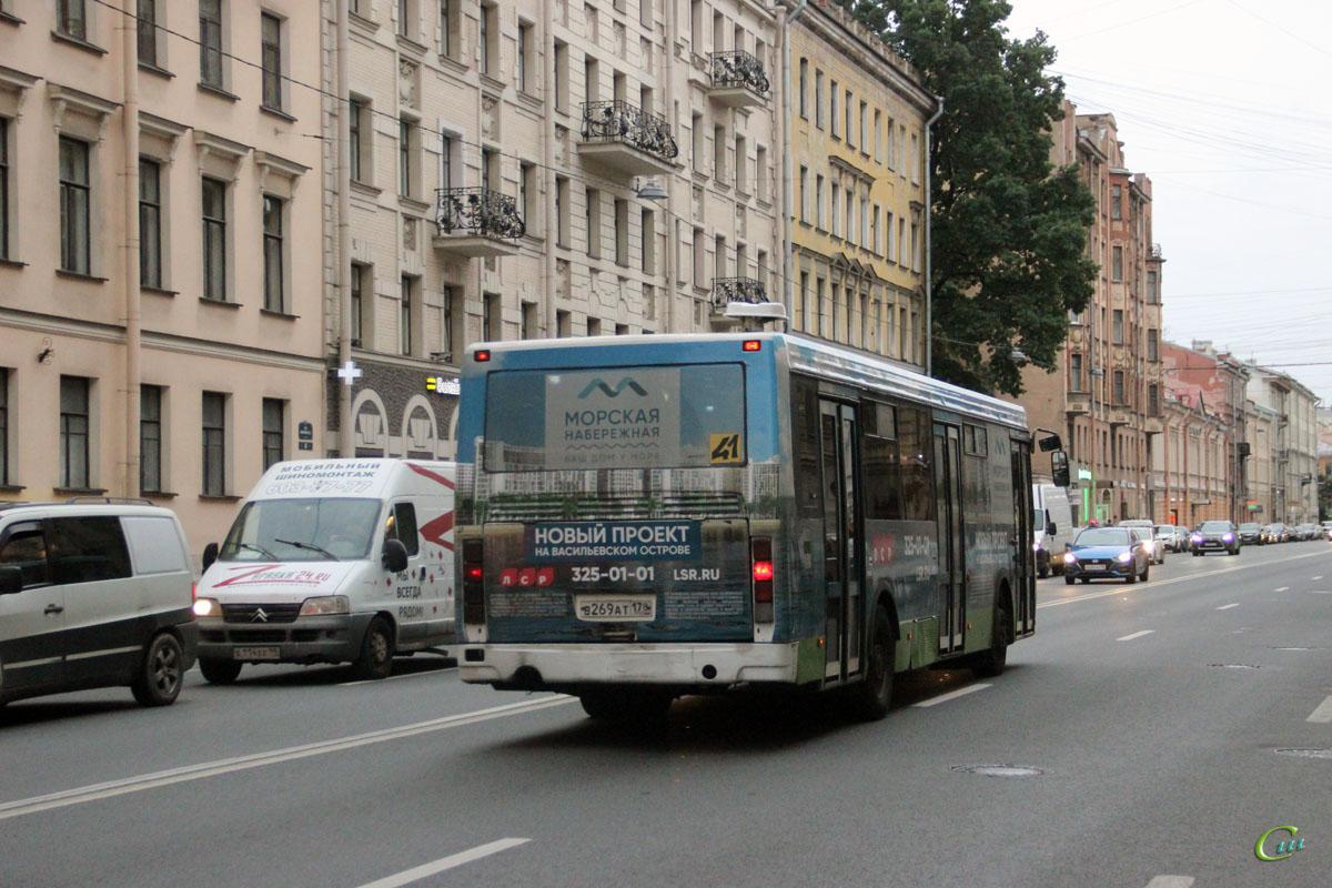 Санкт-Петербург. ЛиАЗ-5293.53 в269ат