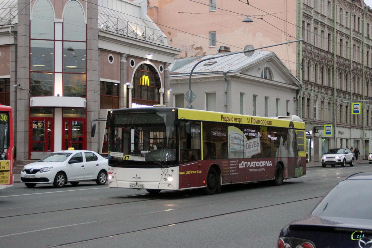 Санкт-Петербург. МАЗ-203.085 в231ун