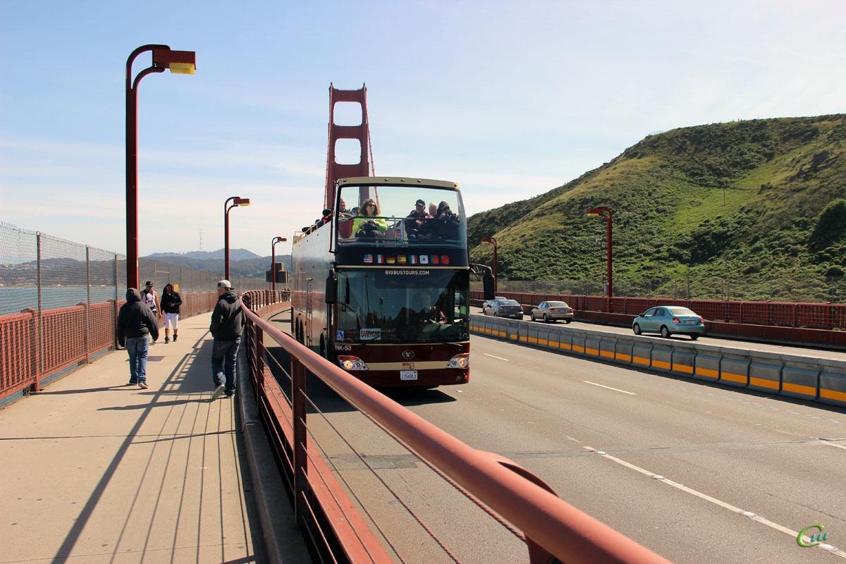 Сан-Франциско. Ankai HFF6120GS-3 23560L1