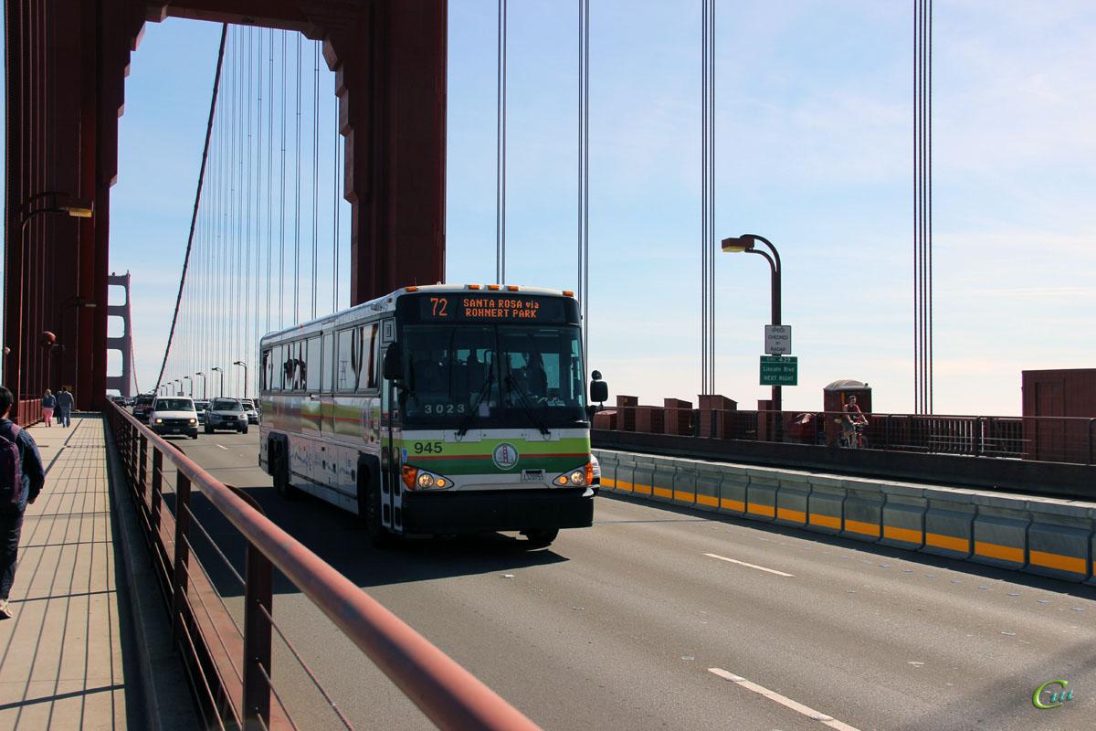 Сан-Франциско. MCI D4500CT 1320955