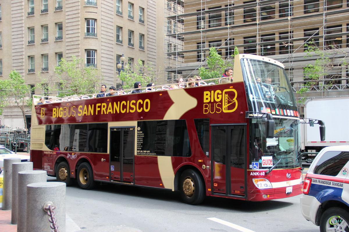 Сан-Франциско. Ankai HFF6120GS-3 78227D1