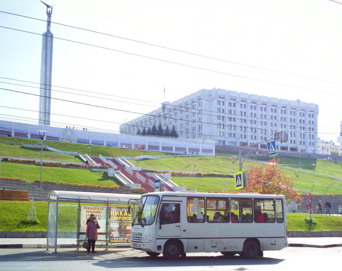 Самара. ПАЗ-320302-22 а933еу