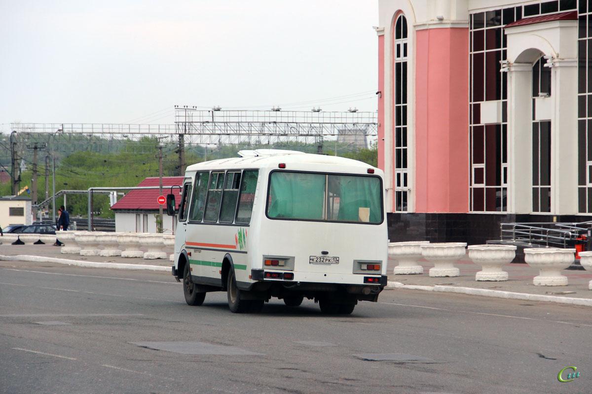 Саранск. ПАЗ-32053 к232рк
