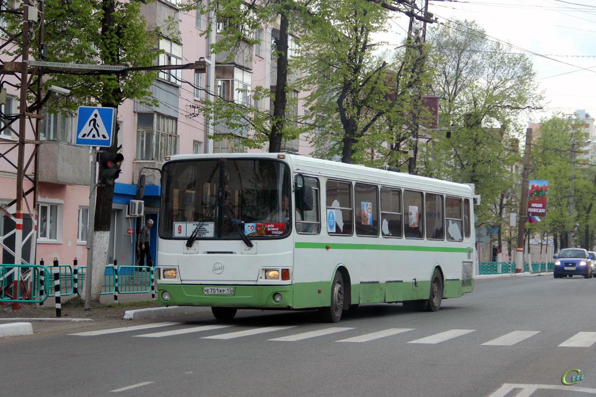 Саранск. ЛиАЗ-5256.26 е701кр
