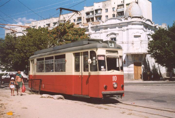 Евпатория. Gotha T57 №10