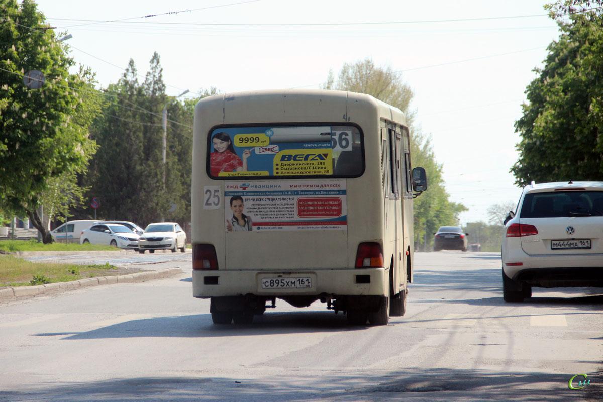 Таганрог. Hyundai County SWB с895хм