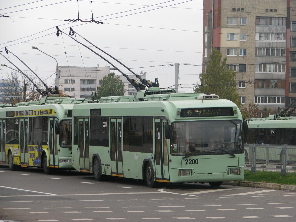 Минск. АКСМ-321 №2200, АКСМ-321 №2712