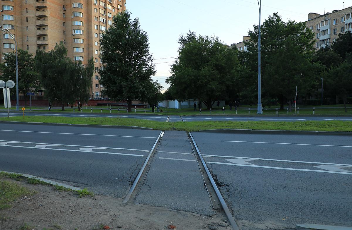 Москва. Остатки перегона Бойня - Симоново (вид в сторону станции Симоново)