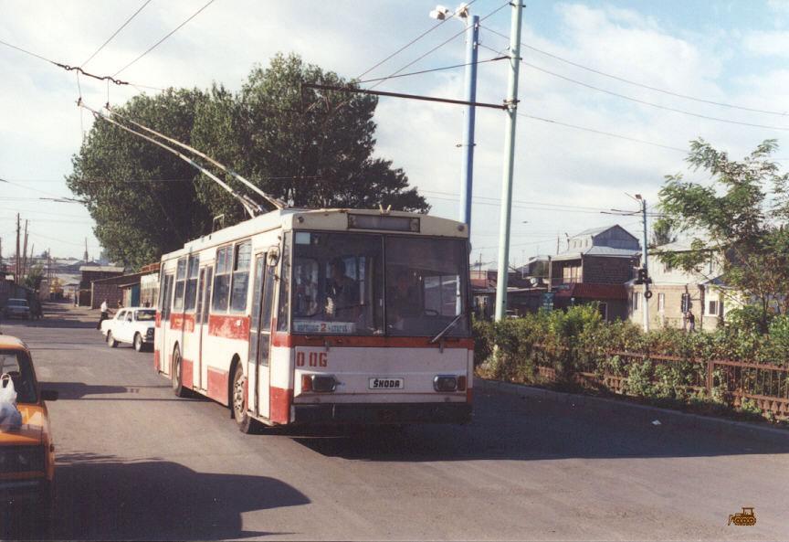Гюмри. Škoda 14Tr89/6 №006