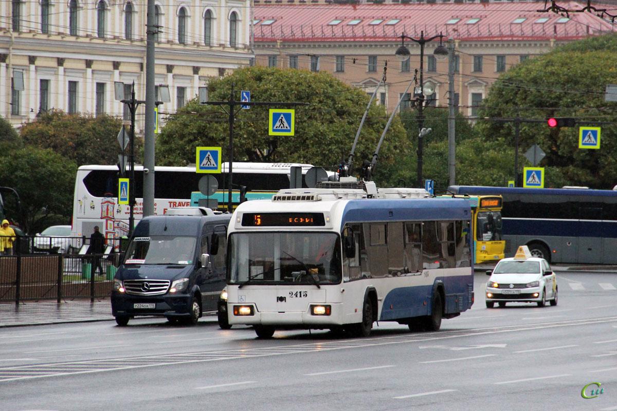 Санкт-Петербург. АКСМ-321 №2415, Mercedes-Benz Sprinter 515CDI р224оа