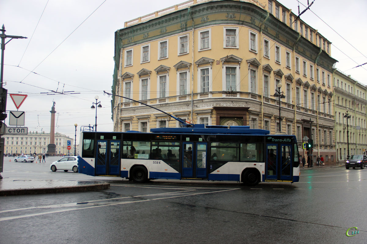 Санкт-Петербург. ВМЗ-5298.01 Авангард №3314