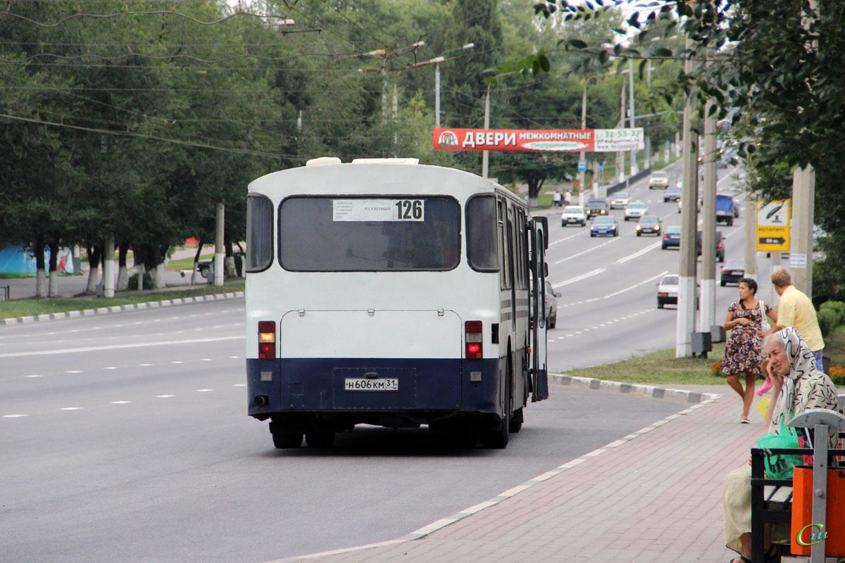 Белгород. Mercedes-Benz O307 н606км