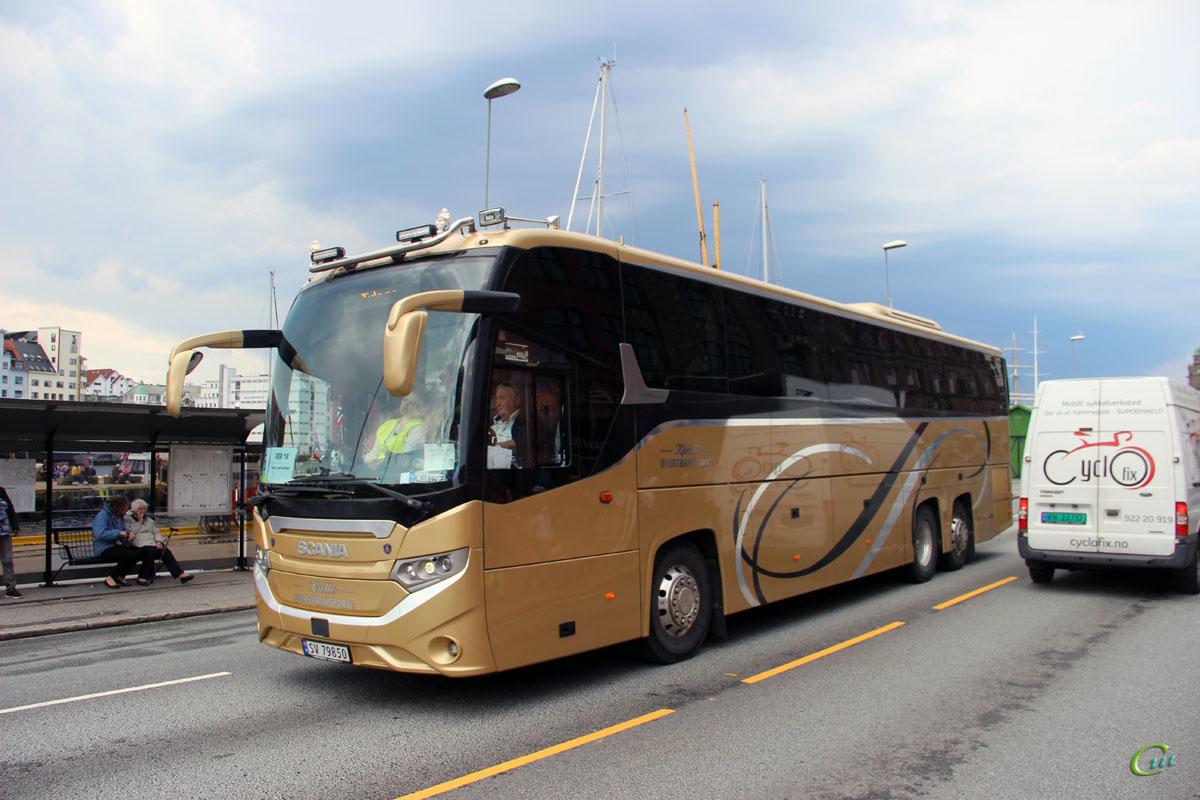 Берген. Scania Interlink HD SV 79850