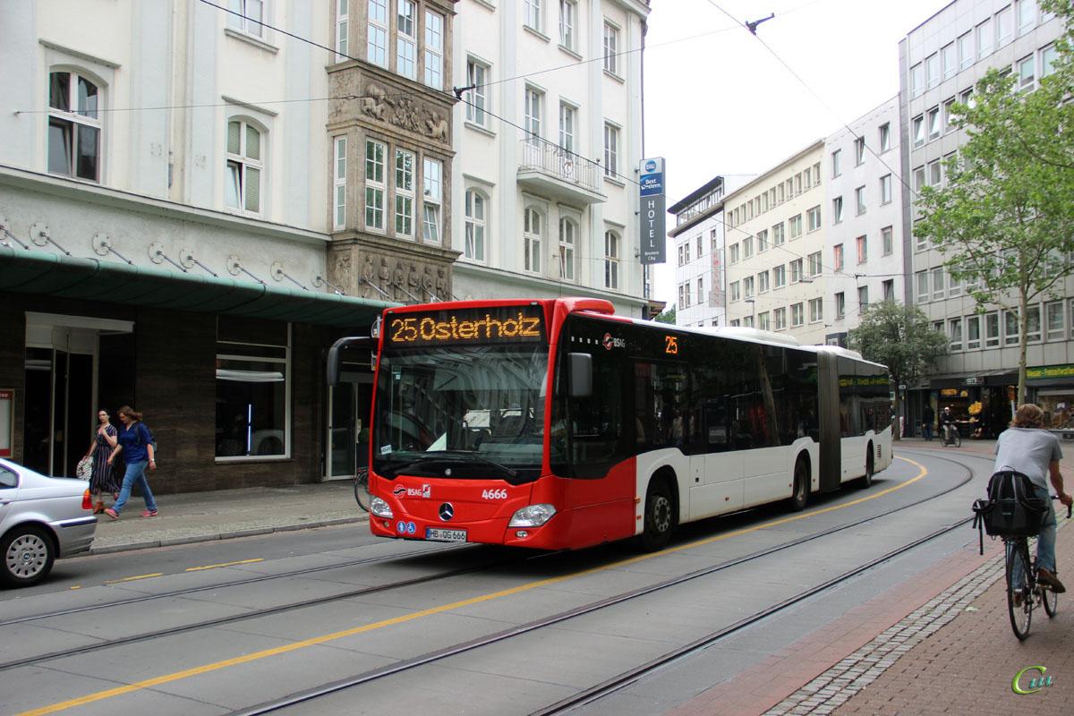Бремен. Mercedes-Benz O530 Citaro G HB-QG 666