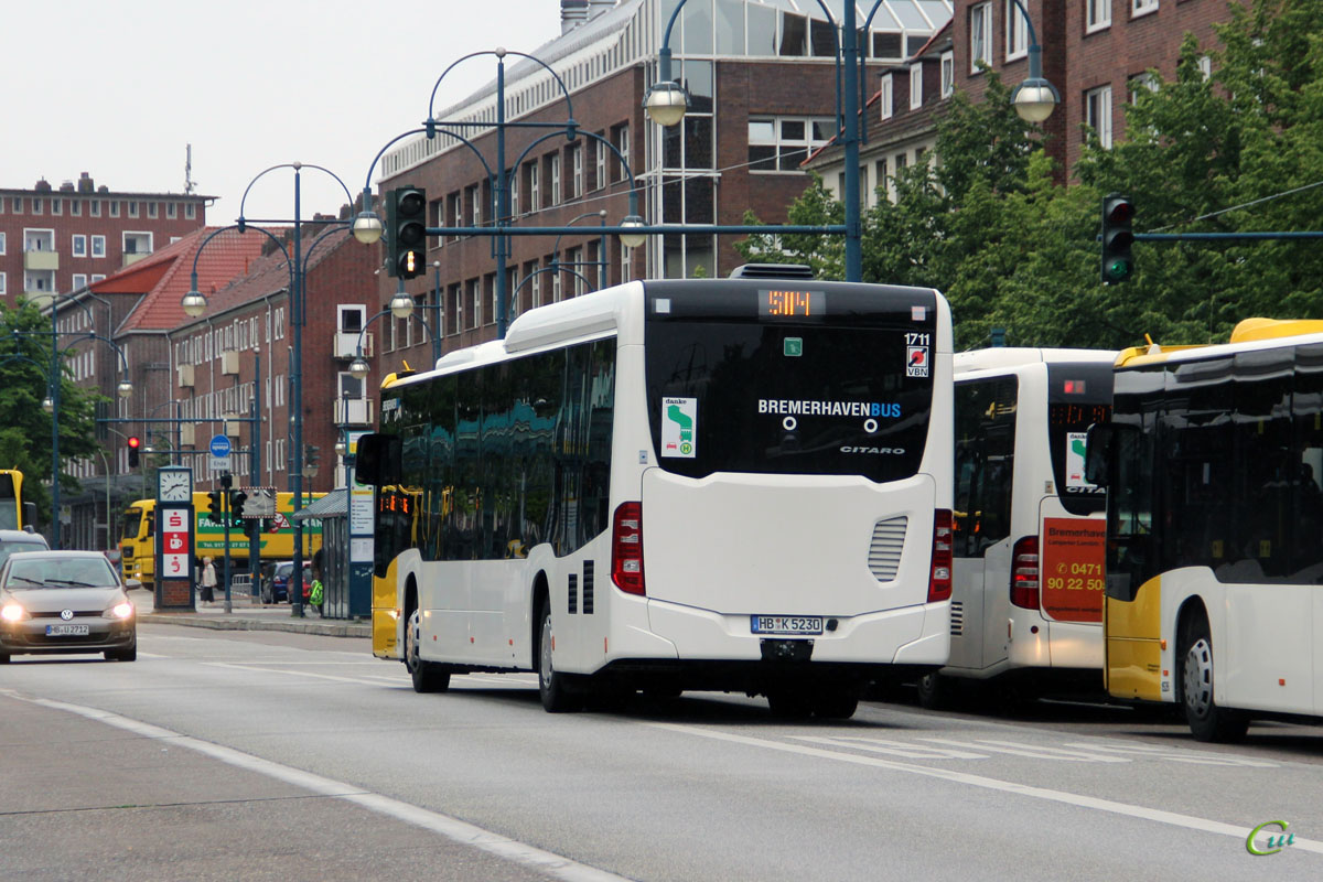 Бремерхафен. Mercedes-Benz O530 Citaro C2 LE MÜ HB-K 5230