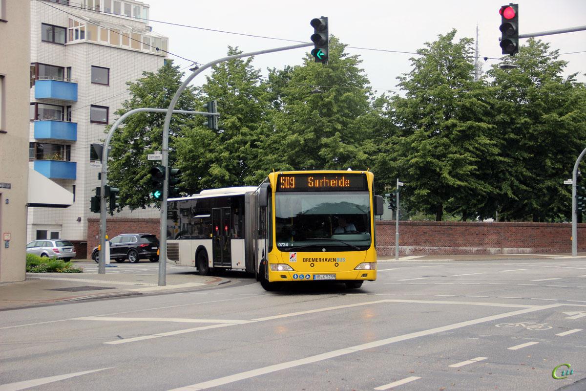 Бремерхафен. Mercedes-Benz O530 Citaro G HB-K 5259