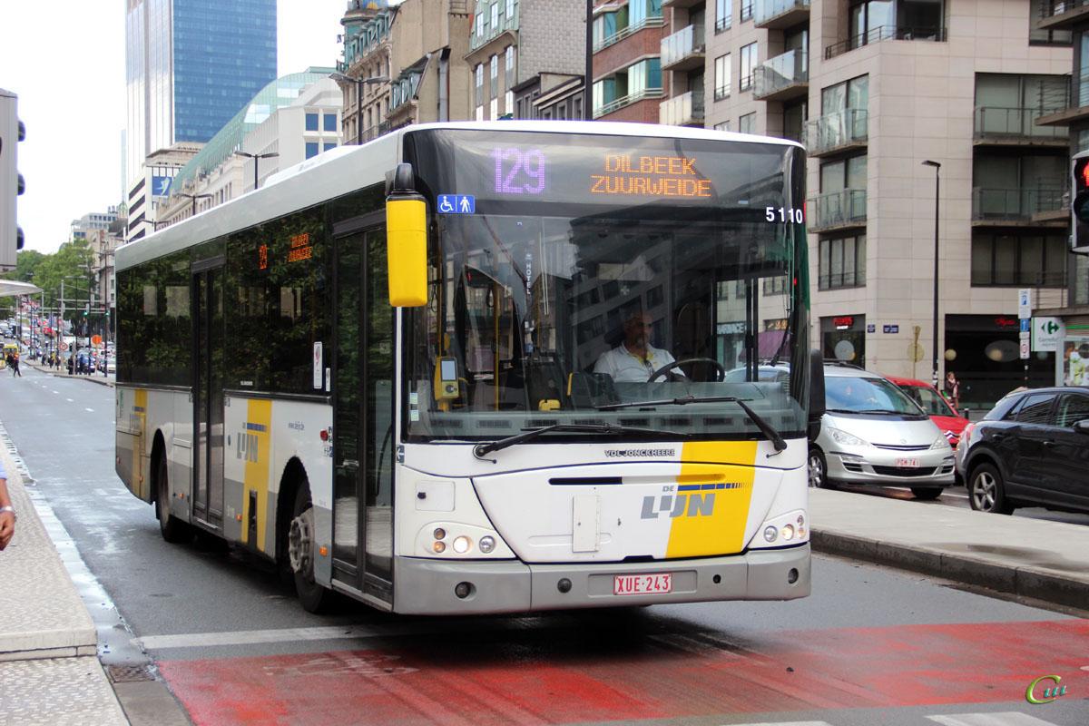 Брюссель. VDL Jonckheere Transit 2000 XUE-243