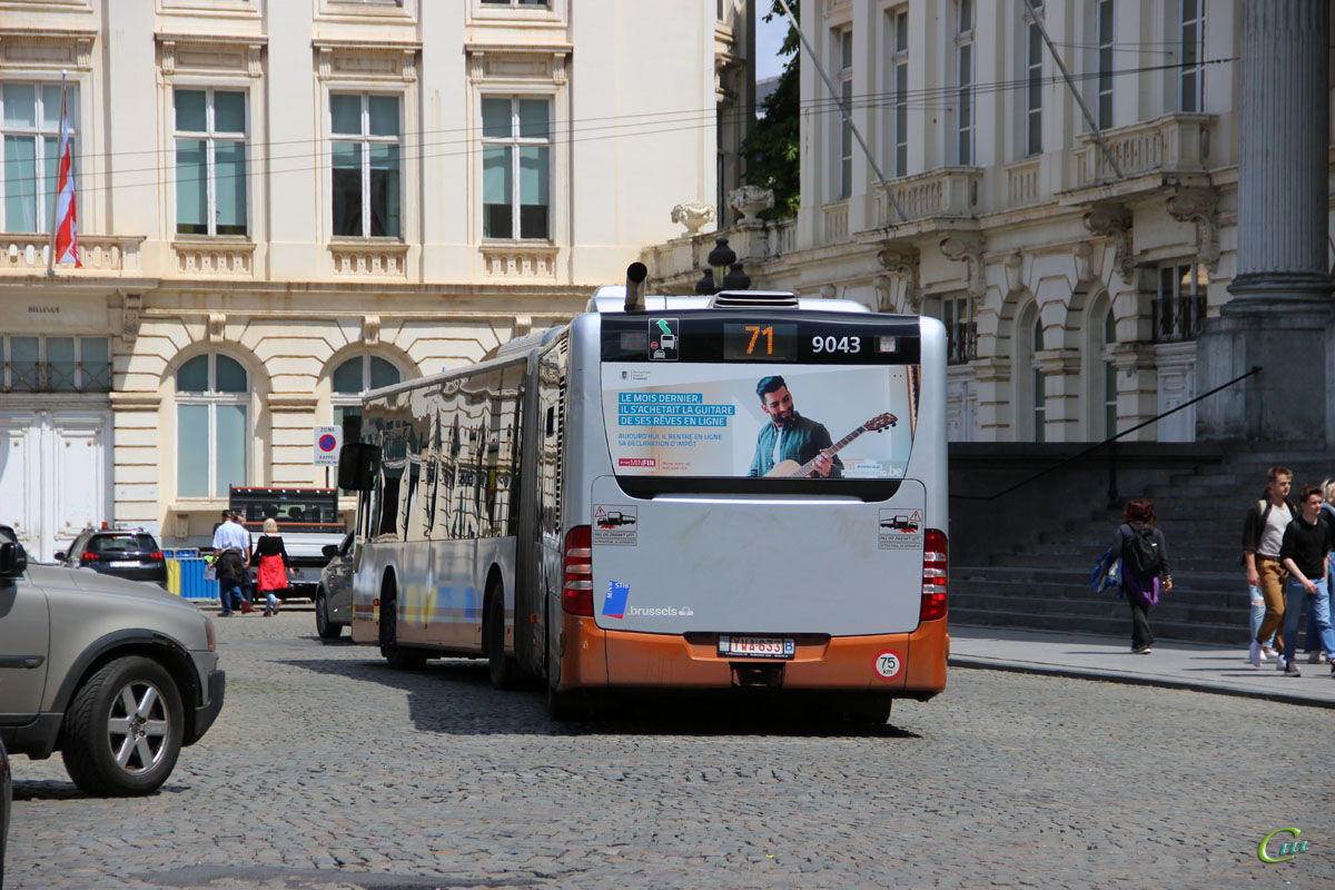 Брюссель. Mercedes-Benz O530 Citaro G YWA-633