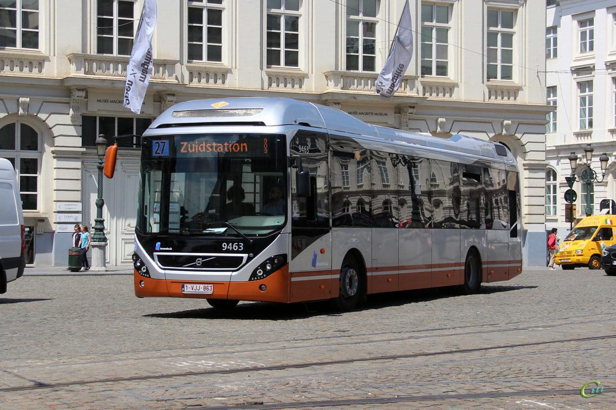 Брюссель. Volvo 7900 Hybrid 1-VJJ-863