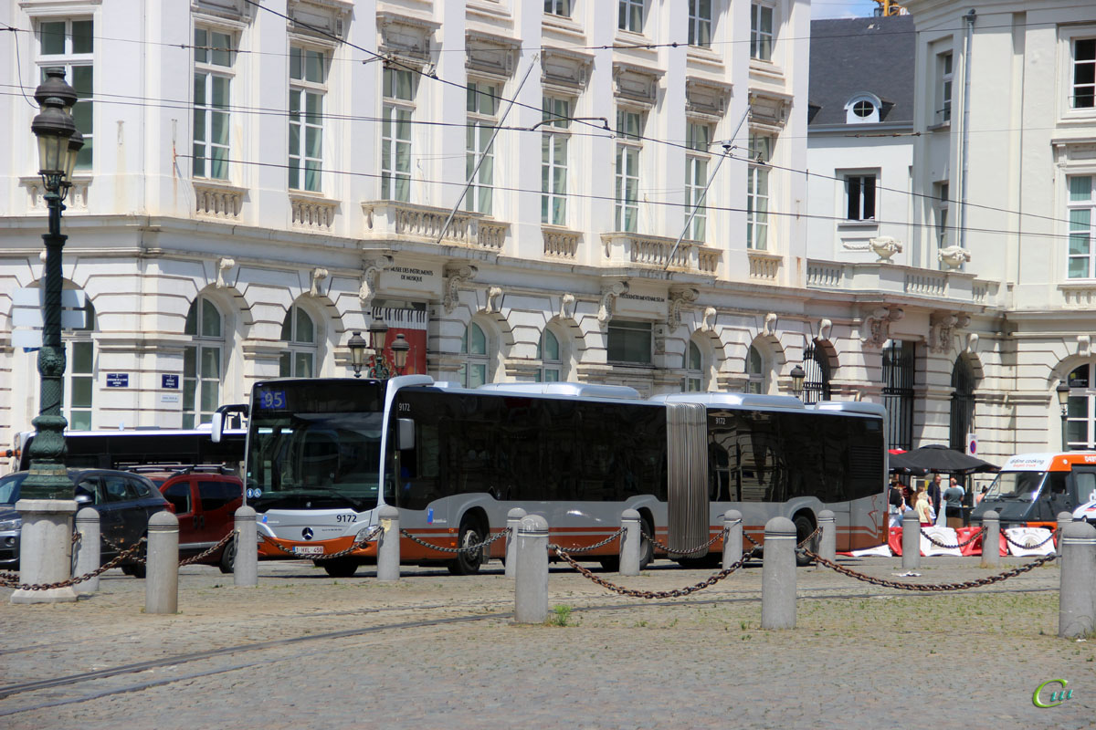 Брюссель. Mercedes-Benz O530 Citaro G 1-HXL-458