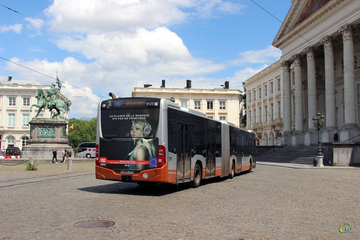 Брюссель. Mercedes-Benz O530 Citaro G 1-HRR-737