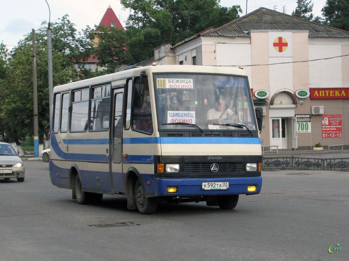 Брянск. БАЗ-А079.29 Мальва к592та