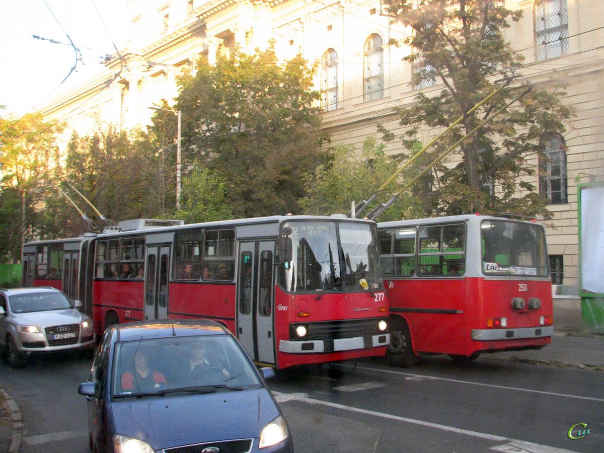 Будапешт. Ikarus 280.94 №250, Ikarus 280.94 №277