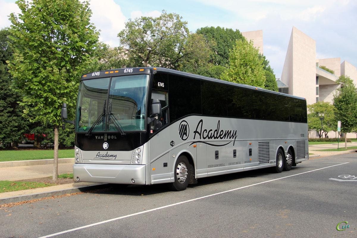 Вашингтон. Van Hool CX45 P903630