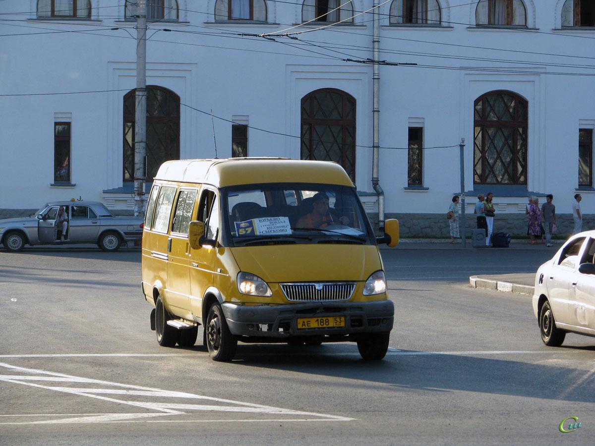 Великий Новгород. ГАЗель (все модификации) ае188