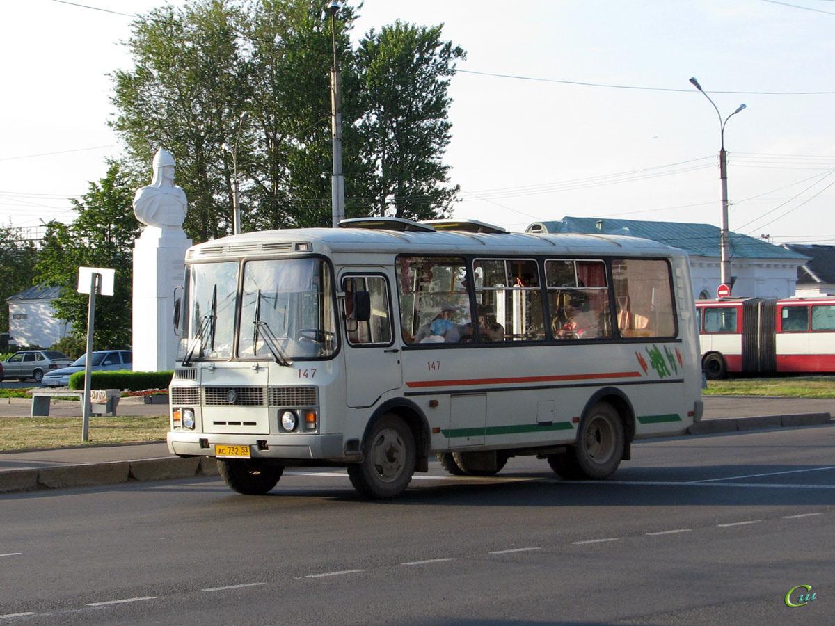 Великий Новгород. ПАЗ-32054 ас732