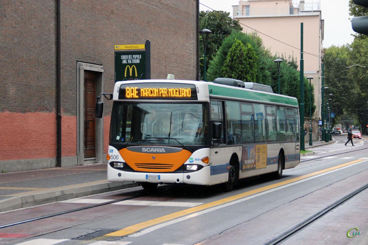 Венеция. Scania OmniCity CN94UB CP 914FT