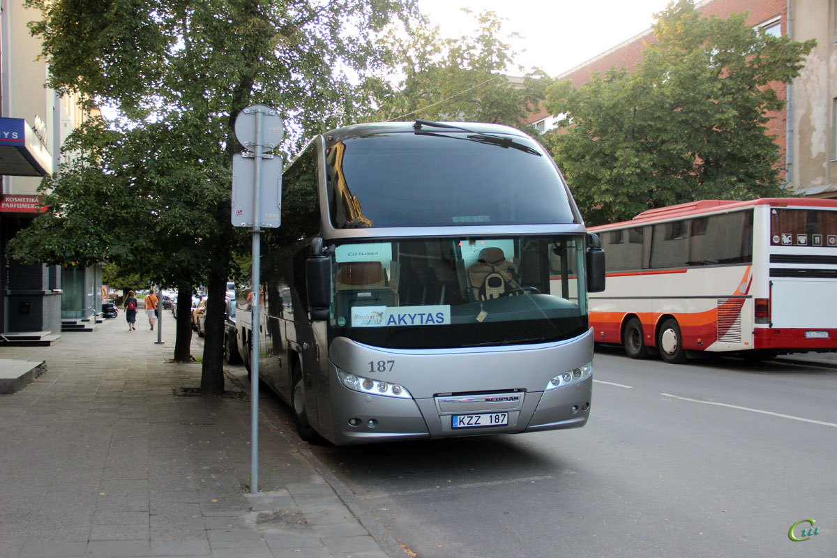 Вильнюс. Neoplan N1217HDC Cityliner KZZ 187
