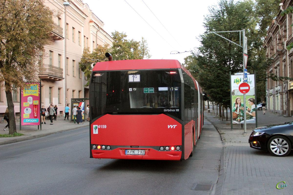 Вильнюс. Solaris Urbino IV 18 KPK 792