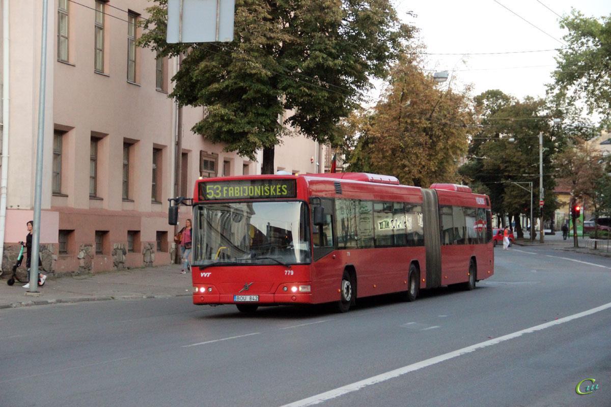 Вильнюс. Volvo 7700A BOU 842