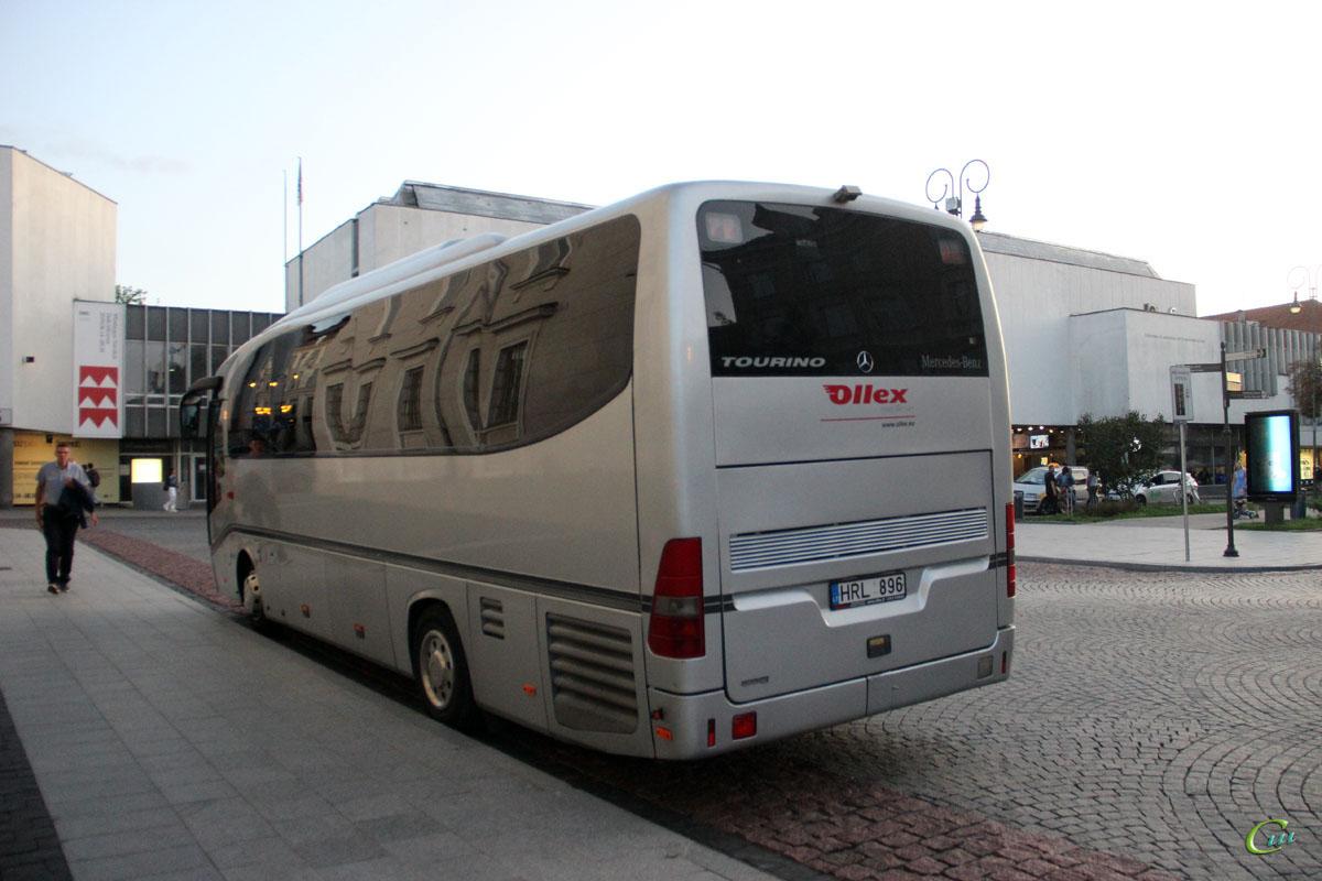Вильнюс. Mercedes-Benz O510 Tourino HRL 896
