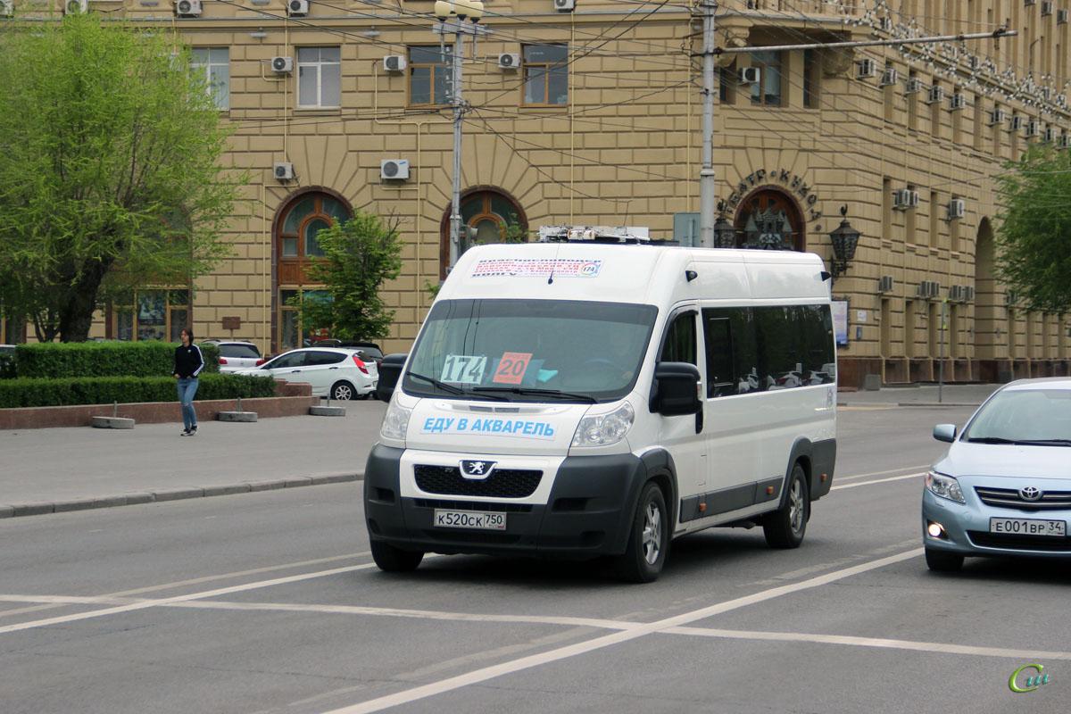 Волгоград. Нижегородец-2227 (Peugeot Boxer) к520ск