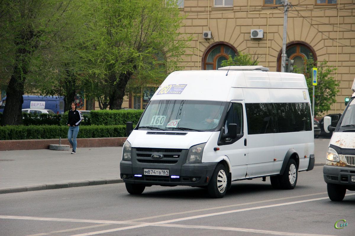 Волгоград. Нижегородец-2227 (Ford Transit) м874тв
