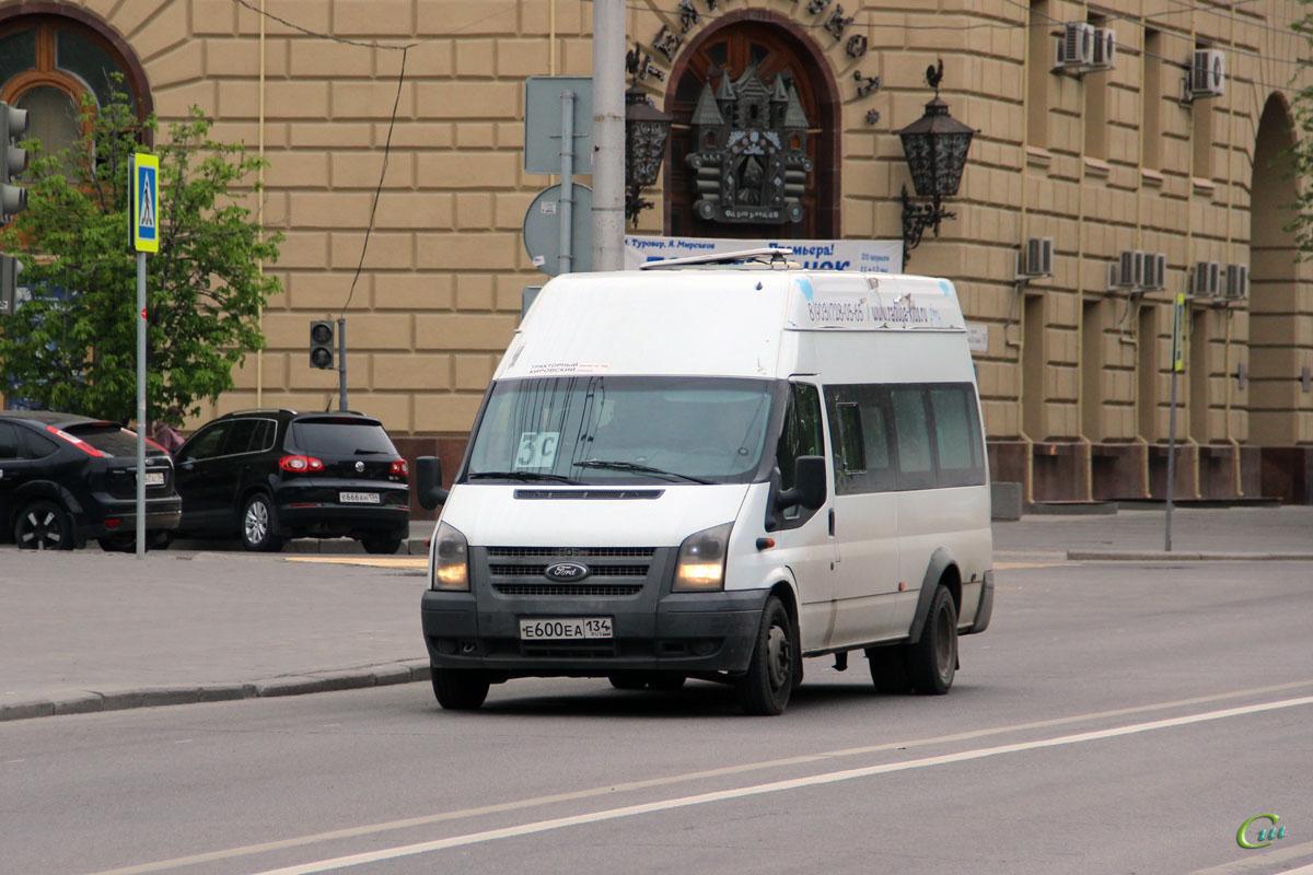 Волгоград. Имя-М-3006 (Ford Transit) е600еа