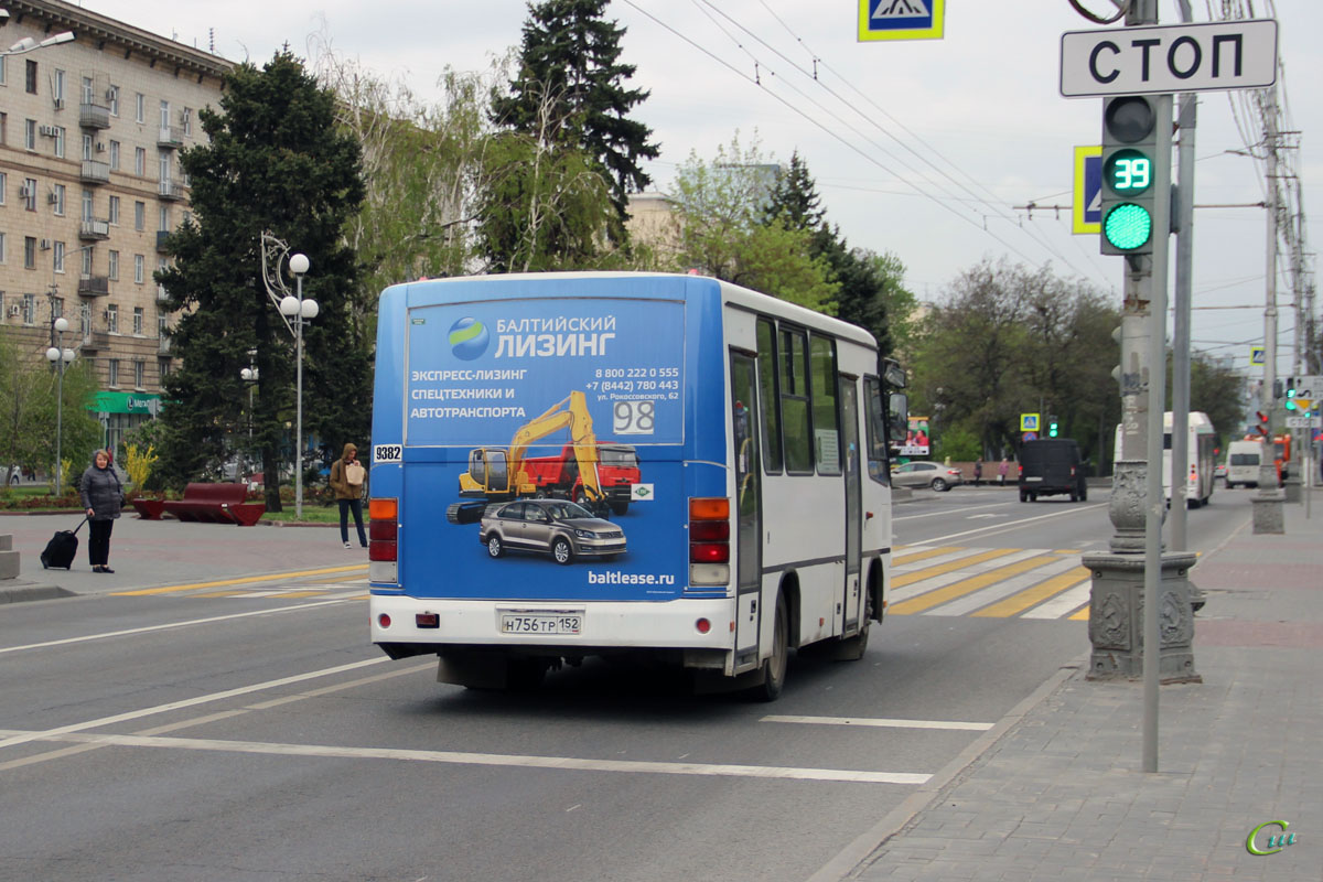 Волгоград. ПАЗ-320302-08 н756тр