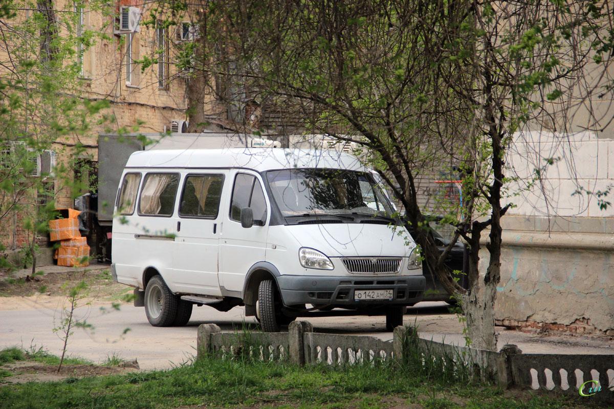 Волгоград. ГАЗель (все модификации) о142ам