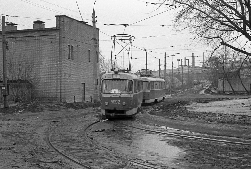 Москва. Tatra T3SU №5692, Tatra T3SU №5693