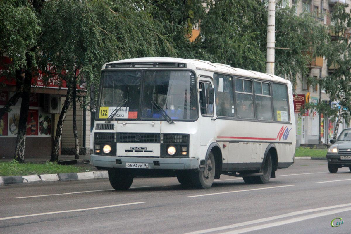 Воронеж. ПАЗ-32054-07 о893ук