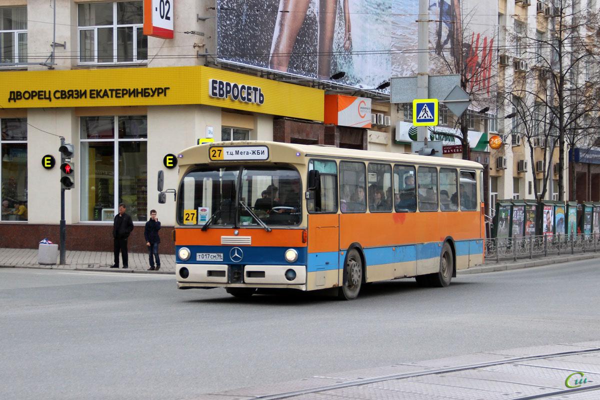 Екатеринбург. Mercedes-Benz O305 т017см