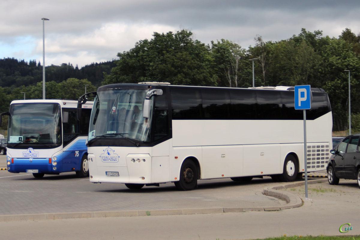 Еленя-Гура. Bova Magiq DJ 59270, Irisbus Ares 12M DJ 75600